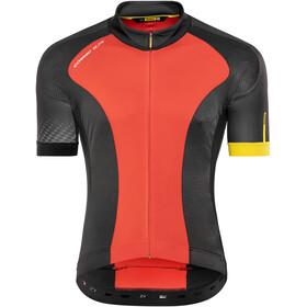 Mavic Cosmic Elite Koszulka kolarska, krótki rękaw Mężczyźni czerwony/czarny